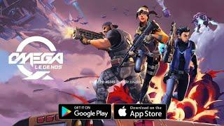 New Battle Royal Game OMEGA LEGENDS For Android/iOS | third person shooter game | high graphic game