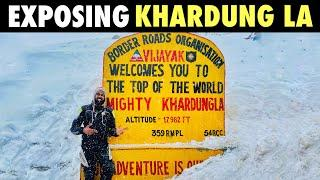 KHARDUNG LA PASS - [ep 09] - not the TOP OF THE WORLD   LEH TO NUBRA   LADAKH RIDE 2021   SJ VLOGS