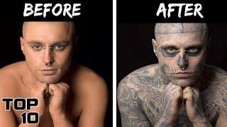 Top 10 Scary Times People Took Tattoos Too Far