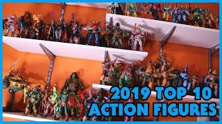 My Top 10 FAVORITE Action Figures of 2019!