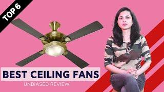 ✅ Top 4: Best Ceiling Fans in India With Price 2020 | Designer Ceiling Fans Review
