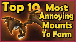 Top 10 Most Annoying Mounts to Farm in World of Warcraft