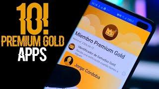 Top 10 Nuevas Aplicaciones PREMIUM Gold Más Buscadas 2019! CON TODO ILIMITADO Mejores apps Android
