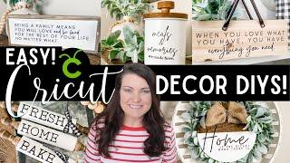 Beginner-Friendly DIYs with the Cricut Explore Air 2 | The best beginner projects using your Cricut!