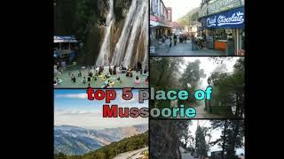 Top 10 place of Mussoorie