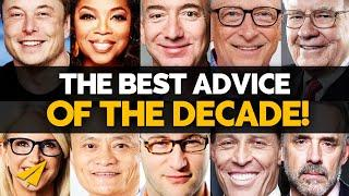 The Top 10 BEST RULES of the DECADE! | Elon, Buffett, Oprah, Gates & More | #BelieveLife