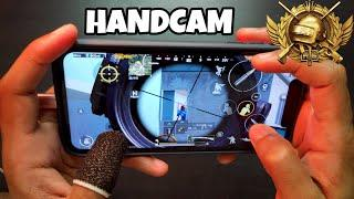 PUBG Mobile | Best Four Finger Claw Handcam - CONQUEROR