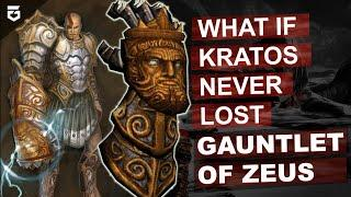 How Kratos Lost ''Gauntlet Of Zeus'' And What If He Never Lost It Hindi