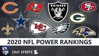 2020 NFL Power Rankings: All 32 NFL Teams From Worst To First