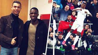 Vinícius Jr. reveals what Cristiano Ronaldo said in the dressing room during El Clasico | Oh My Goal