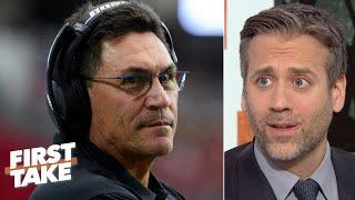 'The Panthers shouldn't have fired Ron Rivera, period!' - Max Kellerman | First Take