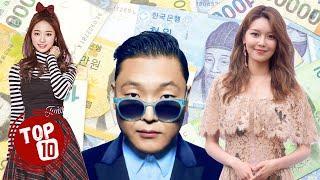 Top 10 Korean Celebrities Who Were Born Into Super-Rich Families ★ 2020