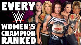 Every WWE Women's Champion Ranked From WORST To BEST