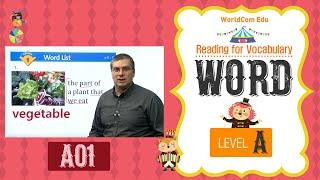 Reading for Vocabulary WORD | Level A | Lesson 01 |  Brian Stuart I ( Learn English )