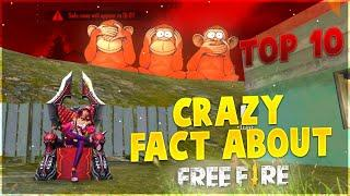 Top 10 Crazy Fact About Free Free || Slumber Queen || Free Fire Tricks Tamil