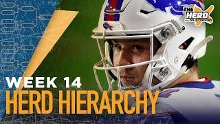 Herd Hierarchy: Colin Cowherd's Top 10 NFL teams heading into Week 14 | NFL | THE HERD