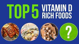 The Top 5 Vitamin D Rich Foods. Strong Immune System in Winter!