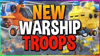 **NEW** SEASON 5 WARSHIP FLYING TROOPS SNEAK PEEK & BALANCE CHANGES!