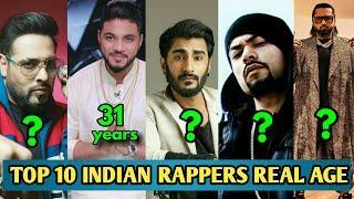 Top 10 Indian Rappers Real Age And Real Name | Honey Singh | Bohemia | Badshah | Ikka | 2020 !!