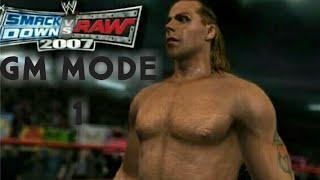 "WWE Smack down vs Raw 2007- GM MODE-""THE DRAFT!!"" (EP 1)"