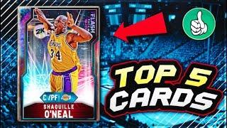 TOP 5 MOST OVERPOWERED CARDS THAT YOU CAN BUY IN NBA 2K20 MyTEAM!!