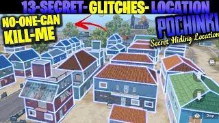 How CONQUEROR Players Plays in POCHINKI 13 Secret Glitches and Location Tips Tricks PUBG MOBILE