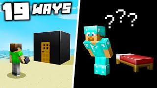 19 Ways to Mess With Your Friends in Minecraft 1.16!