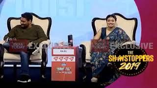 Ajay Devgn and Kajol Devgn play dumb charades!
