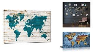 Best World Map Metal Wall Art   Top 10 World Map Metal Wall Art For 2020   Top Rated World Map