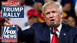 Trump holds first rally after being acquitted in impeachment trial