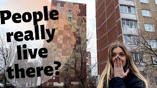 Shock of residential areas in Kyiv, Ukraine!