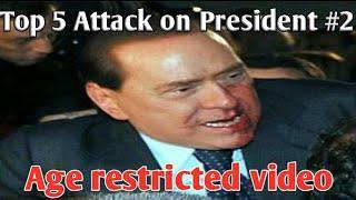 Top 5 Attacks On prime minister ||Dangerous attacks on President part #2
