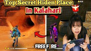 TOP 10 HIDDEN PLACE IN KALAHARI MAP,GARENA FREEFIRE