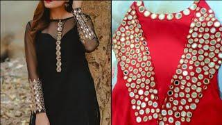Top 10 mirror work kurti designs || #mirrorkurtidesigns
