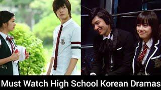 Top 10 Must Watch Korean Dramas On High School-School Life Korean Dramas