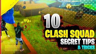 Top 10 Clash Squad Tips And Tricks In Freefire || Secret Hidden Place In Freefire || Part-2