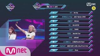 What are the TOP10 Songs in 2nd week of September? M COUNTDOWN 200910 EP.681