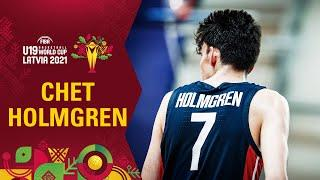 Chet Holmgren can do it all! - Best plays in the group stage | FIBA U19 World Cup