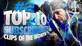 Top 10 Subscriber Clips Of The Month - JULY