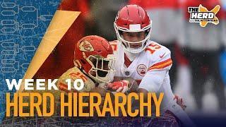 Herd Hierarchy:Colin Cowherd's Top 10 NFL teams heading into Week 10 | NFL | THE HERD
