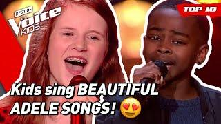 TOP 10   Would ADELE turn for these young singers in The Voice Kids?