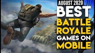 Top 10 PUBG Like Battle Royale Games For Android AUGUST 2020 | Ultra High Graphics || VirtualBitS