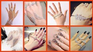 Top10! Stunning Hand Jewellery// Stylish palm Cuff And Hath Phool Designes Collection/palm Bracelet