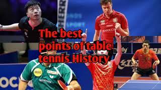 Top 10/ The best table tennis points of the history.
