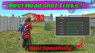 Best Head Shots Tricks in Free Fire    Best Head shot sensitivity    Free Fire Tricks Tamil