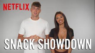The Cast of Too Hot to Handle Tries Snacks From Around The World   Netflix