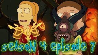 Rick and Morty Season 4 Episode 7 EXPLAINED! Promortyus Character Development!