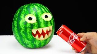 12 Amazing Party Tricks With Watermelon and Cola!