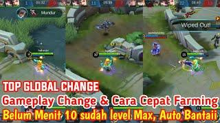 BUILD CHANGE TERSAKIT & CARA FARMING TERCEPAT!!! Gameplay by Top Global   Mobile Legends