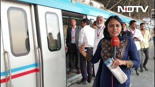 Last Phase of Hyderabad Metro Inaugurated by Telangana Chief Minister